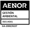 AENOR Environmental Management Quality Certificate