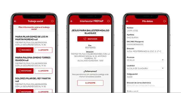 Mobile FREMAP Contigo Options